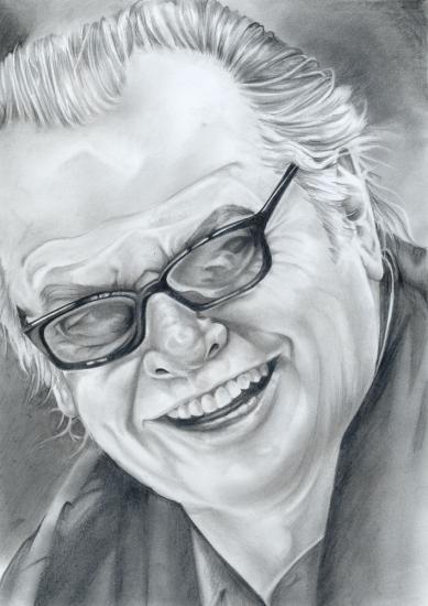 Jack Nicholson by Maggie